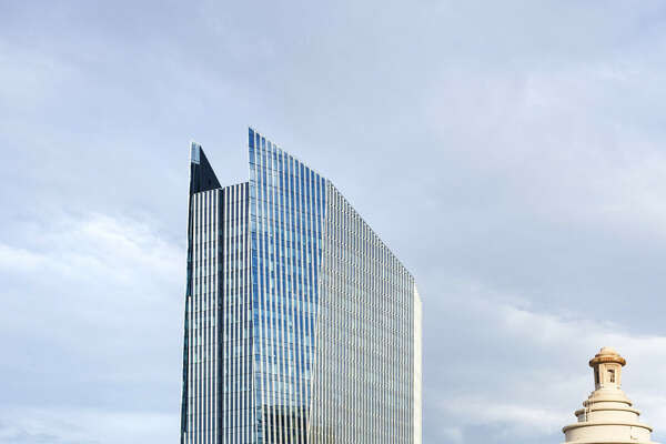 Downtown's 609 Main was designed by the Pickard Chilton architecture firm.