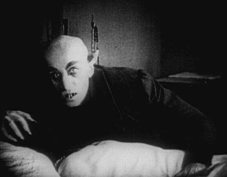 Max Shreck was the star of the original 'Nosferatu' vampire film in 1922.