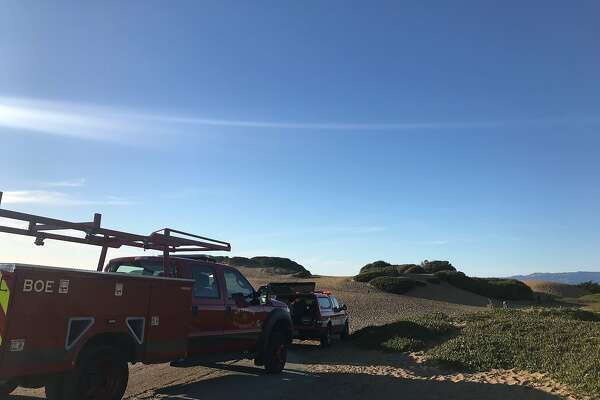 Fort Funston cliff collapse traps two women, one still in