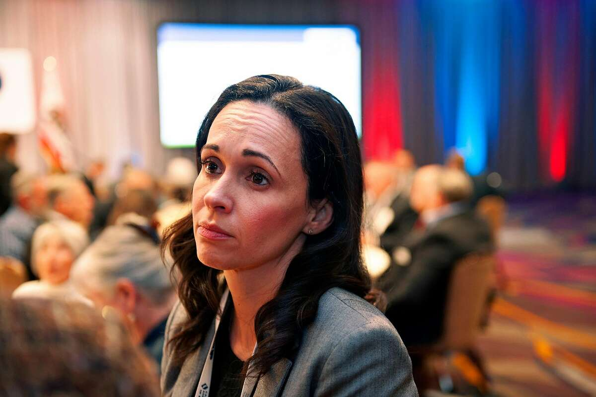 GOP Jessica Patterson at the GOP Spring Convention at the Hyatt Hotel in Sacramento. Photographed on Friday, February 22, 2019.