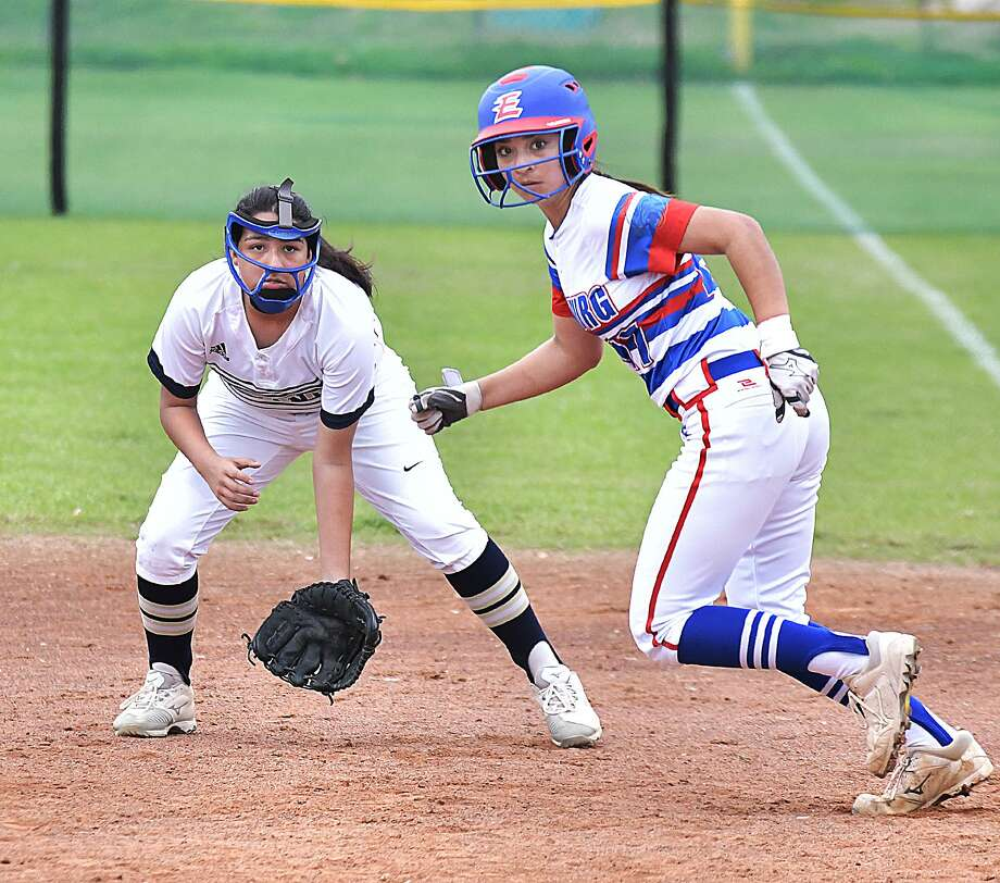 Amanda Flores and the Lady Bulldogs were the only Laredo team to advance to bracket play in this year's Border Olympics softball tournament. Photo: Cuate Santos /Laredo Morning Times