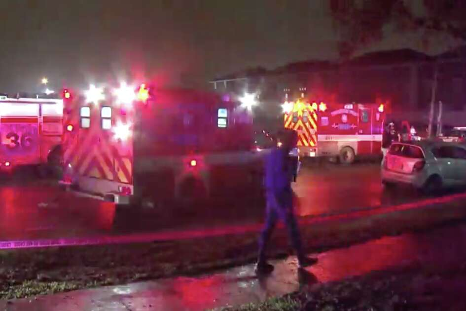 A man was shot and killed early Saturday morning after a suspect opened fired at a party in southeast Houston, police said.
