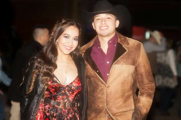 Latin music fans gathered to see Prince Royce perform at his first San Antonio Stock Show and Rodeo Friday, Feb. 22, 2019.