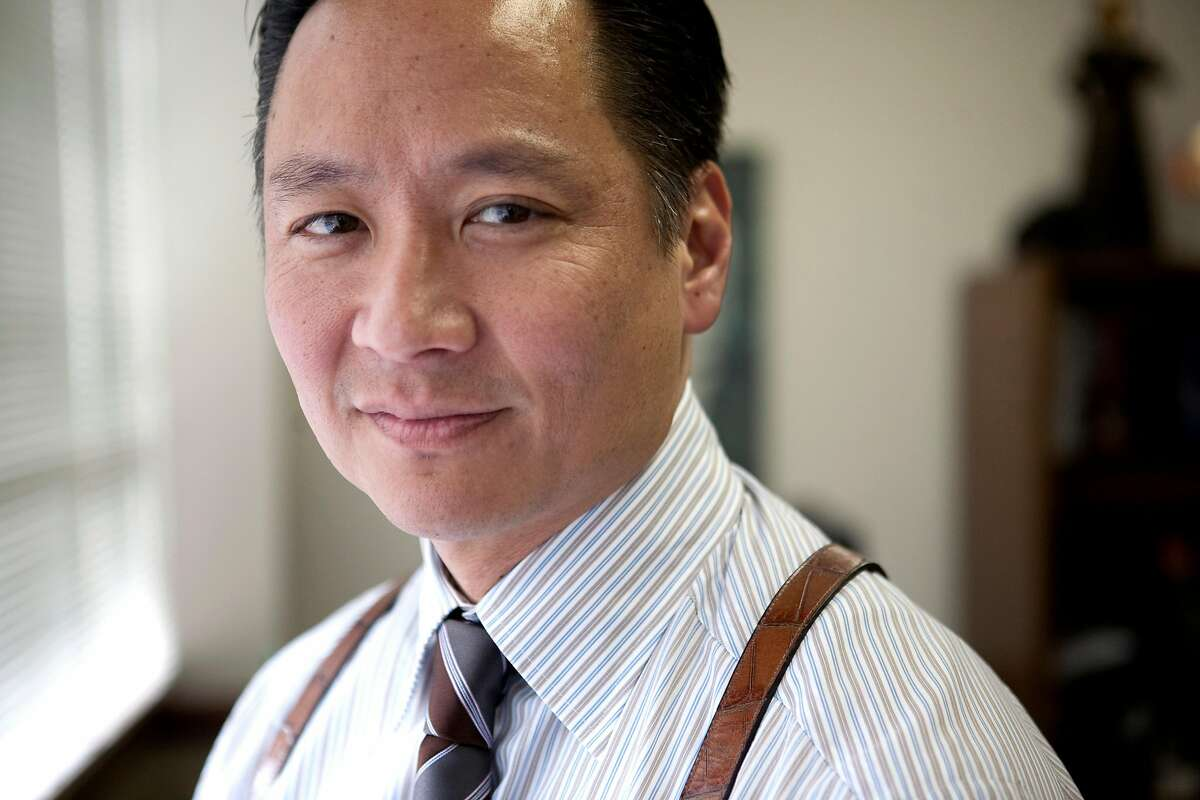 San Francisco Public Defender Jeff Adachi stands in his in San Francisco, Calif., office on Friday, Feb. 20, 2009. Adachi is the producer of