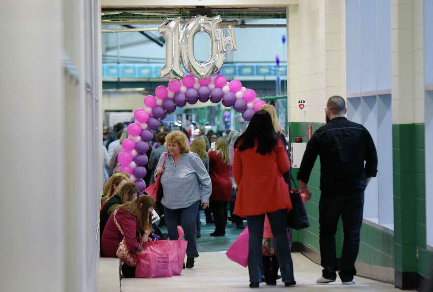 The 10th anniversary of the New York Women's Expo takes place on Saturday, Feb. 23, 2019 at Siena College in Loudonville, NY. (Phoebe Sheehan/Times Union)