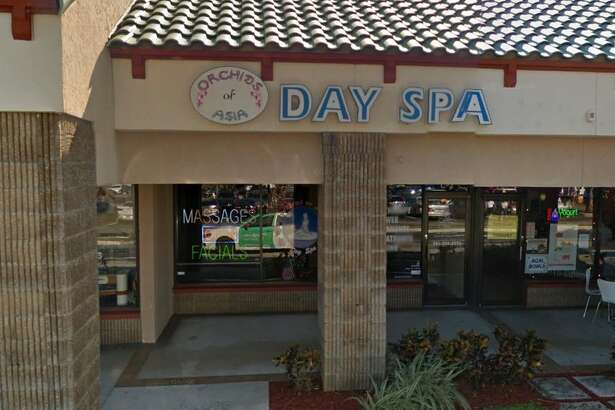 Massage parlor raid in Florida