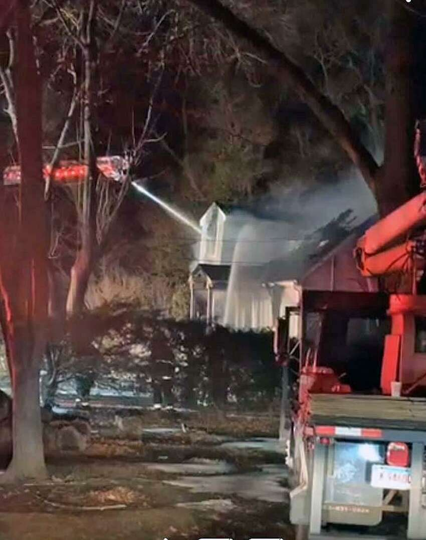 Just after 10 p.m. Friday, Feb. 22, 2019, Trumbull Center, Nichols and Long Hill fire departments in town were dispatched to a possible structure fire on Sylvan Avenue in Trumbull, Conn., at the end of the dead-end road. The first unit on scene confirmed a home heavily involved in fire.