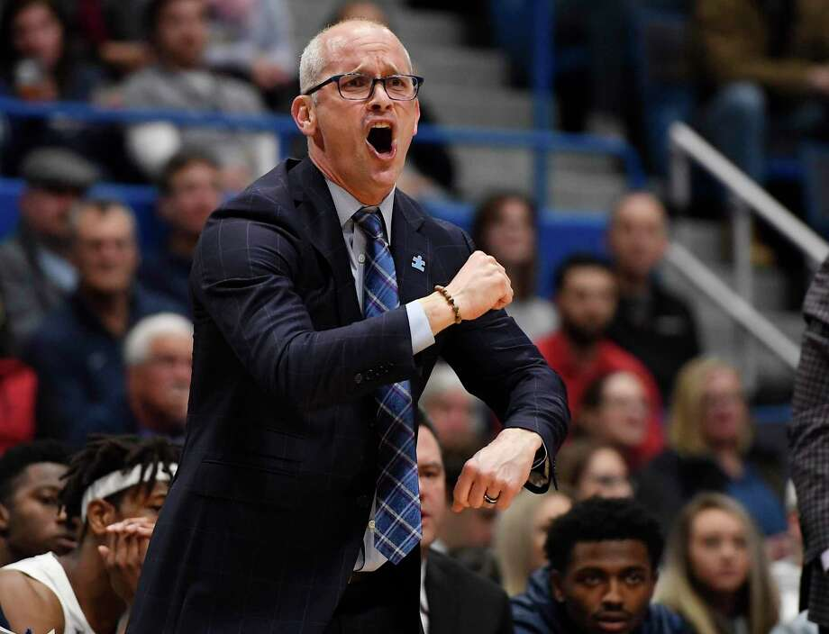 Dan Hurley, coach of the UConn men's basketball team Photo: Jessica Hill / Associated Press / Copyright 2019 The Associated Press. All rights reserved