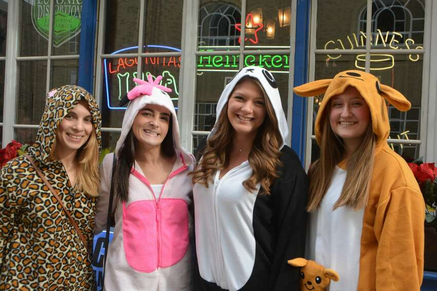 The New Haven Onesie Bar Crawl was held on February 23, 3019. Participants donned their best onesie pajamas and enjoyed drink specials at participating bars, Were you SEEN?