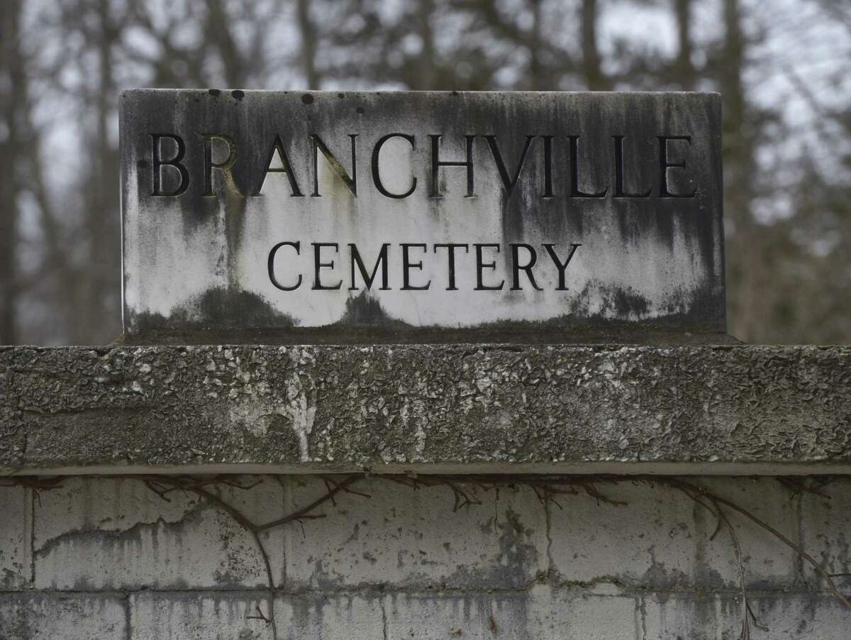 The Town of Ridgefield is looking into taking over the Branchville Cemetery.Saturday, February 23, 2019, in Ridgefield, Conn.