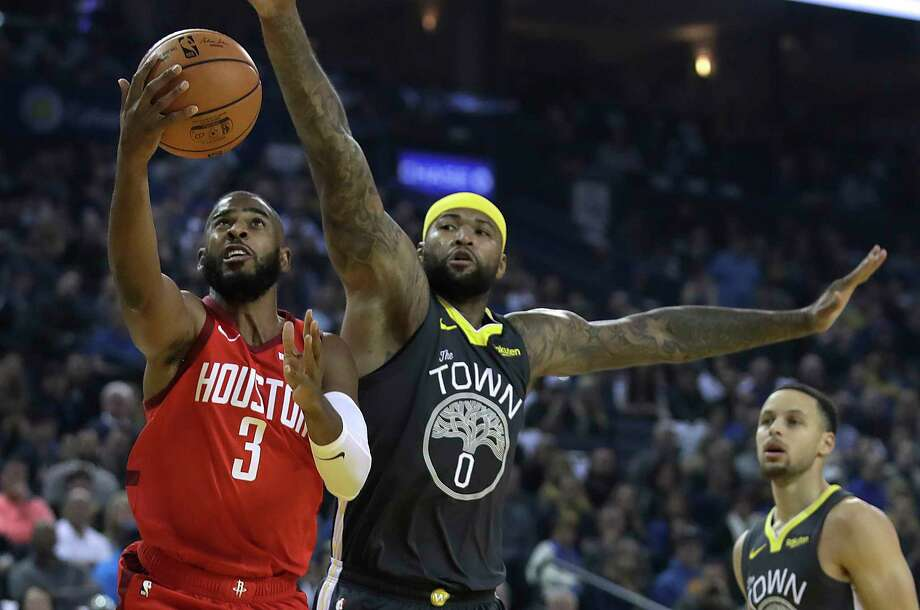 d96ef6939609 Rockets stun Warriors behind Chris Paul