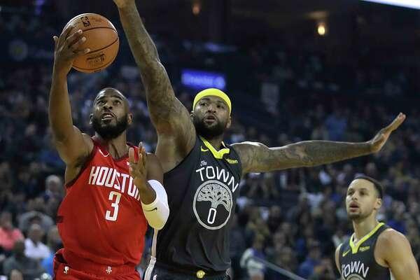 4a5a8ac1ac97 Rockets stun Warriors behind Chris Paul
