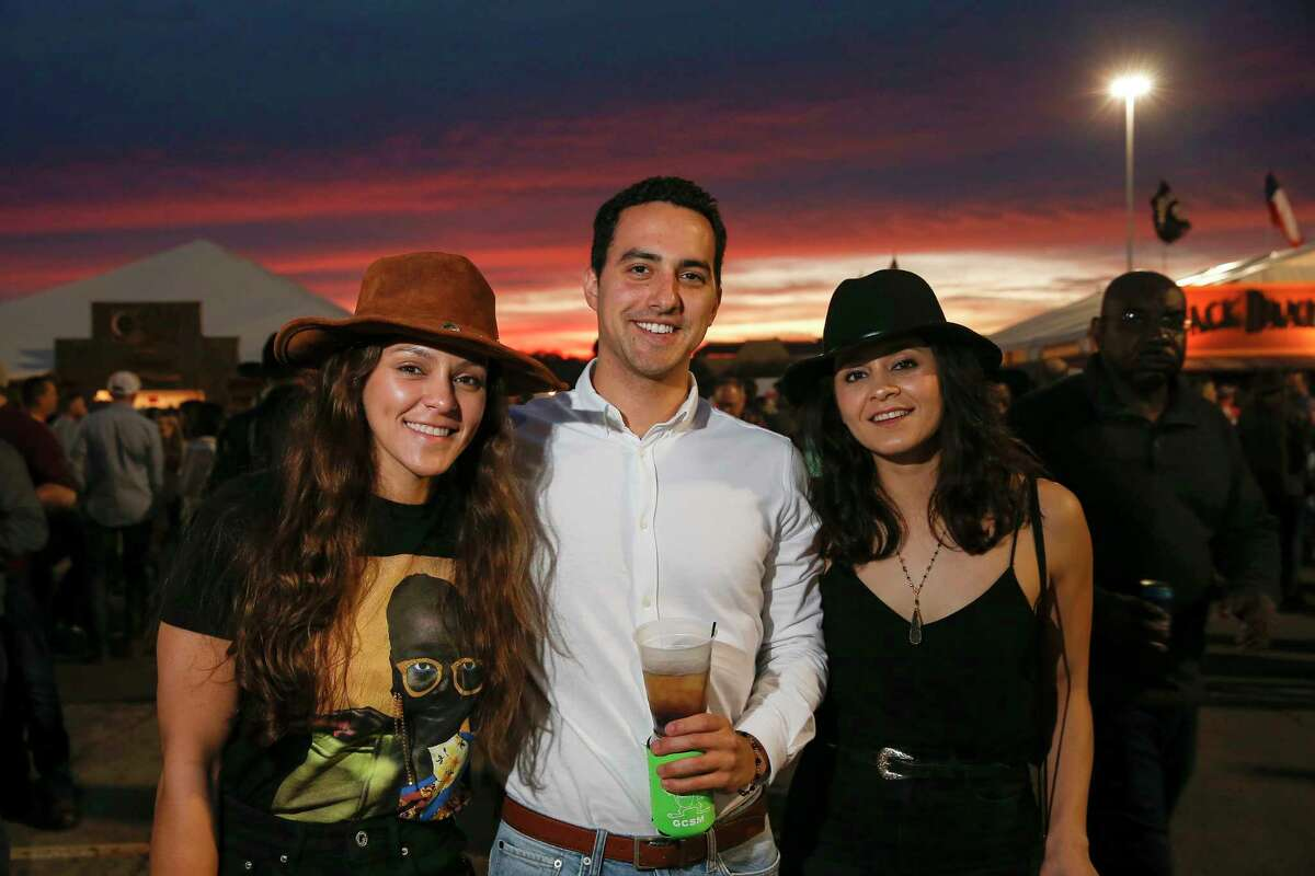 Attendees enjoy the Houston Livestock Show and Rodeo World's Championship Bar-B-Que Contest in Houston, TX on Saturday, February 23, 2019.
