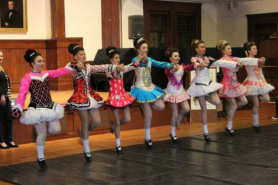 The Lenihan dancers will teach the fundamentals of Irish step-dancing at Pequot Library. Photo: Contributed Photo