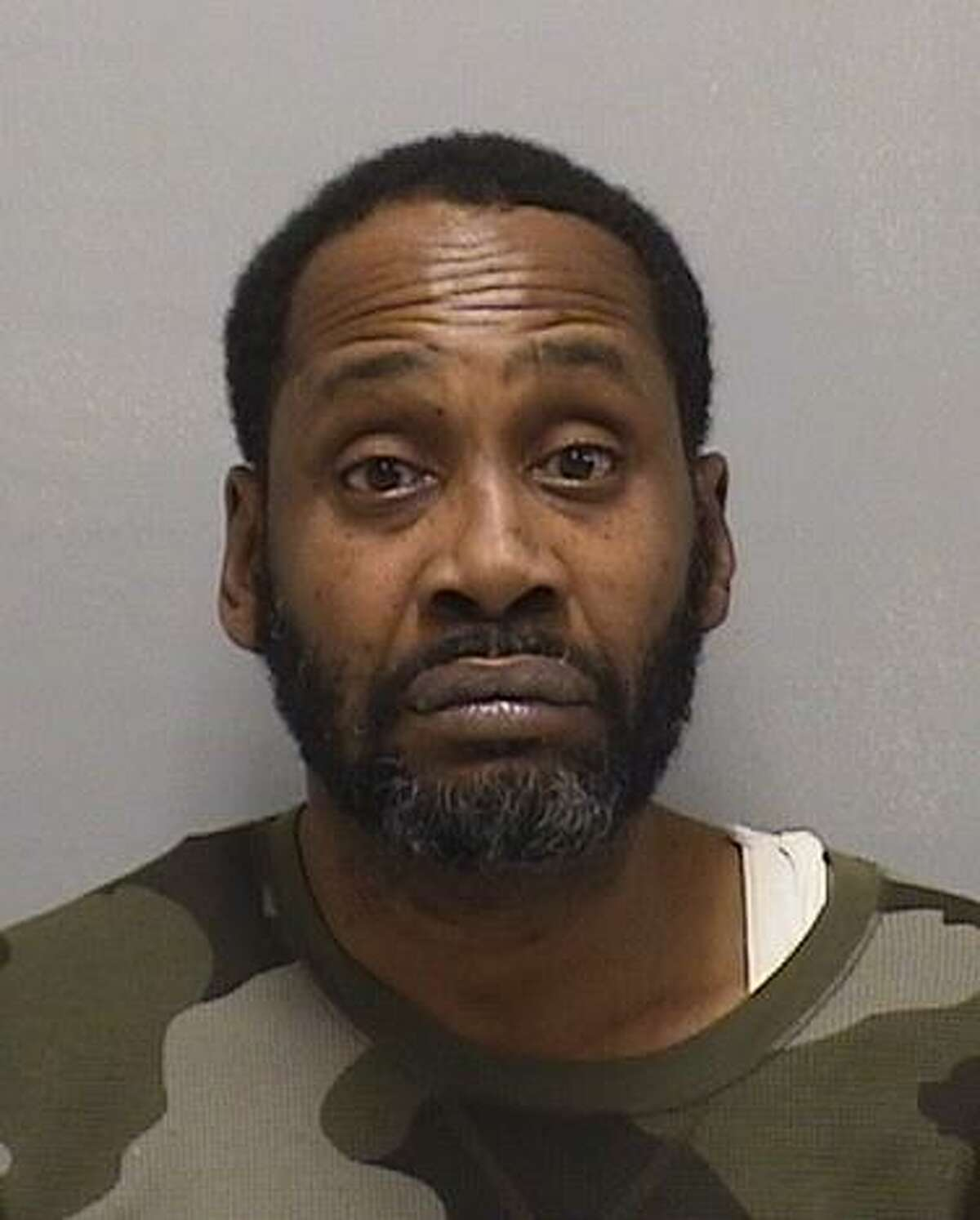 Robert L. Banks, 48, of West Haven,was arrested Feb. 19, 2019 after allegedly trying to steal jackets from Burlington Coat Factory in Orange.