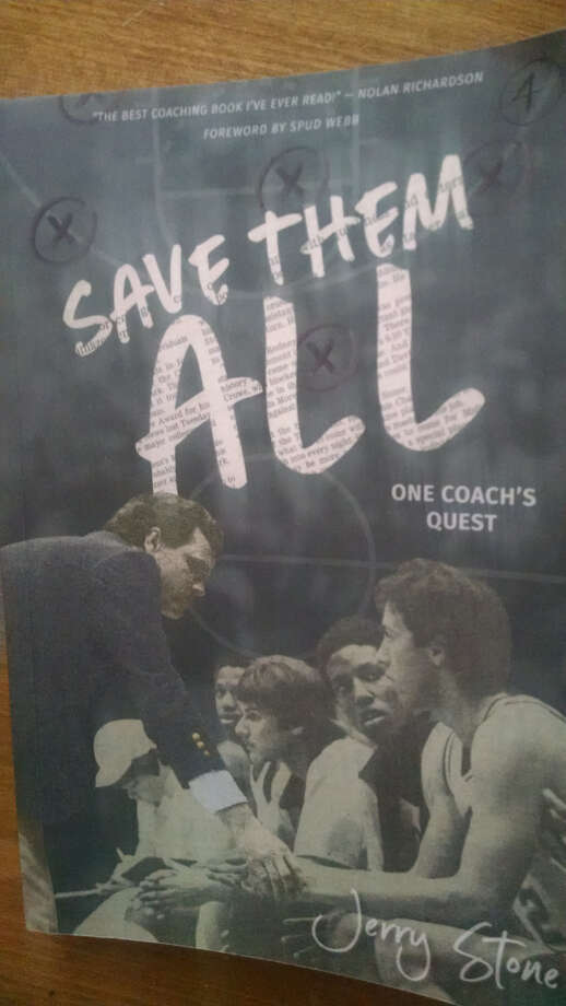 "Former Midland College men's basketball coach Jerry Stone wrote a book ""Save Them All: One coach's quest."" Photo: MRT Staff"