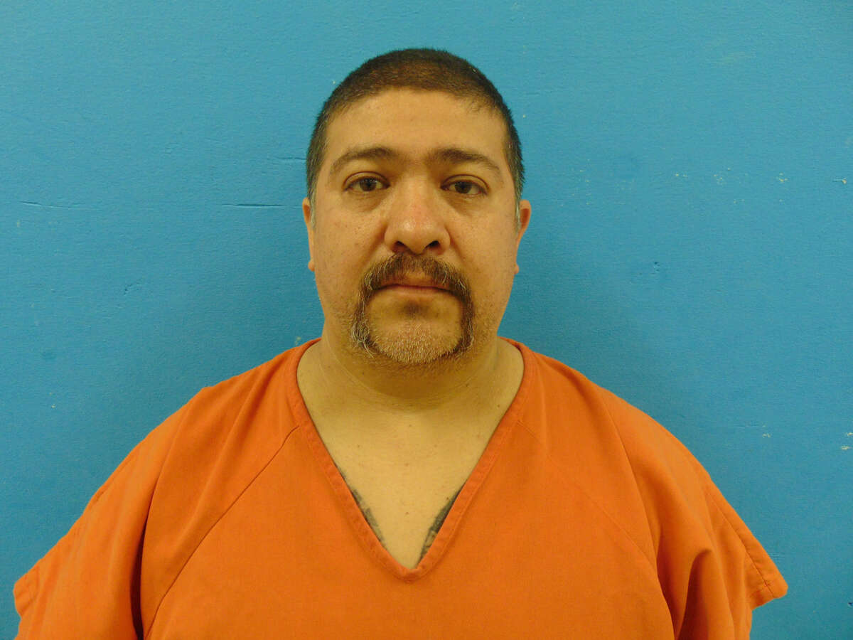 Santos Reina, 47, has been charged in the shooting death of Jesse Valdez Sr., 38, of Seguin.