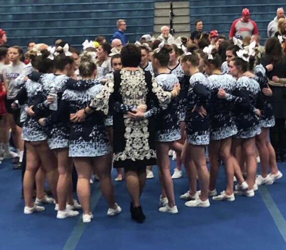 The Meridian cheer team took second at Saturday's regional to advance to the Division 4 state finals on Saturday, March 2 in Grand Rapids.