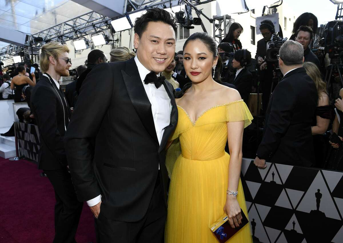(Left to right) Director Jon M. Chu and Constance Wu attend the 91st Annual Academy Awards at Hollywood and Highland on February 24, 2019 in Hollywood, California.