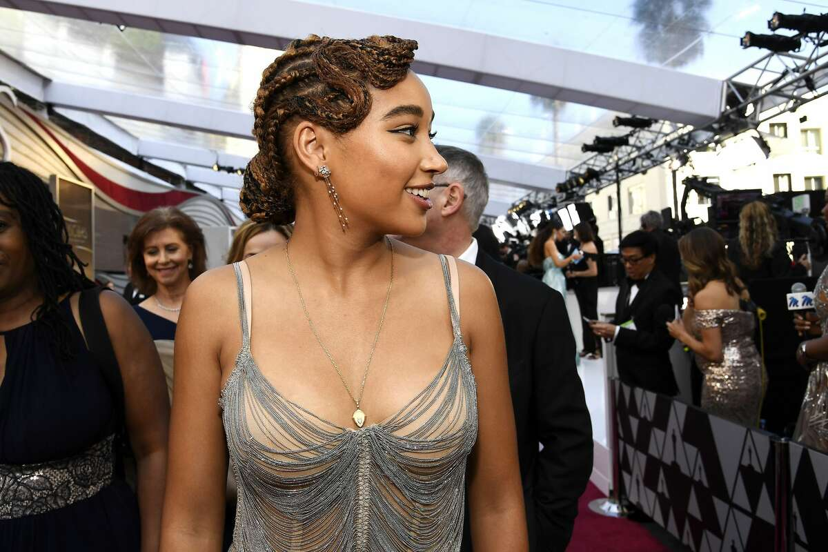 Amandla Stenberg attends the 91st Annual Academy Awards at Hollywood and Highland on February 24, 2019 in Hollywood, California.