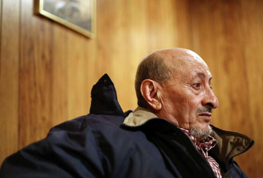 Abdulla says he has trouble sleeping and eating because he's so worried about his family in Yemen's war. (Phoebe Sheehan/Times Union) Photo: Phoebe Sheehan, Times Union / 40046206A