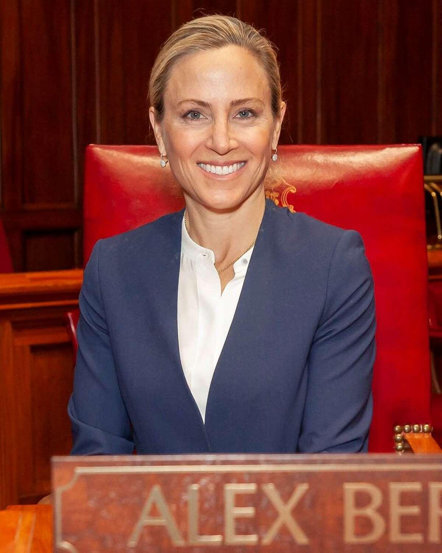 State Sen. Alex Bergstein, D-Greenwich, Stamford, New Canaan.