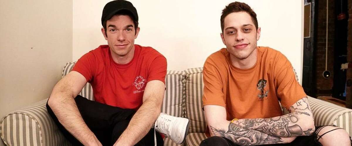 John Mulaney, left, and Pete Davidson will perform two show at Stamford's Palace Theatre March 3.