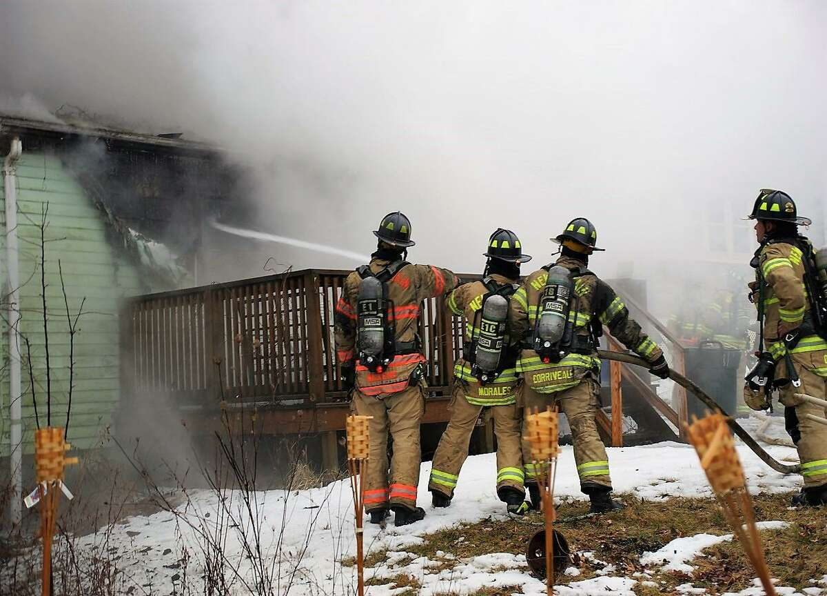 Two brothers died in a quick-moving house fire on Elam Street, fire officials said. The fire was reported at 4:40 p.m. Sunday, Feb. 24, 2019 with callers telling dispatchers that two people were trapped inside, Fire Chief Raul Ortiz said.