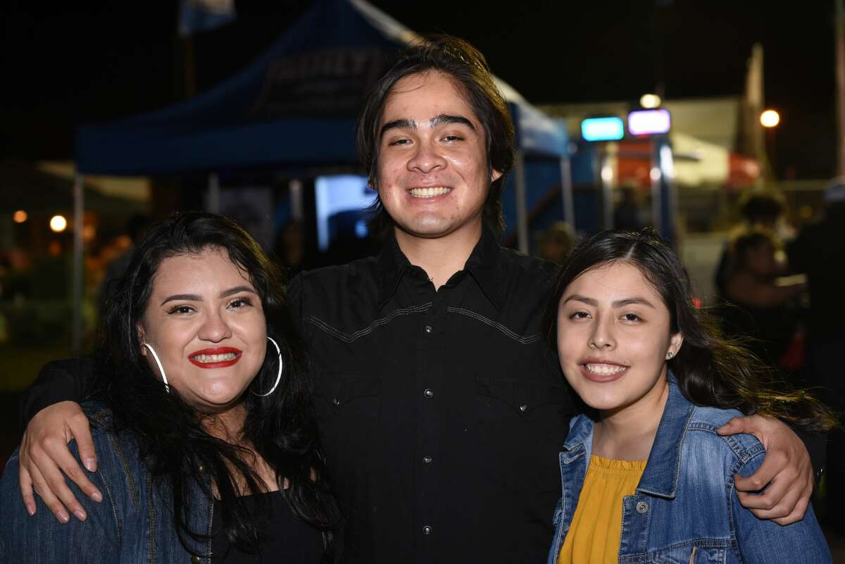 Attendees pose for a photo during the WBCA Jalapeno Festival.