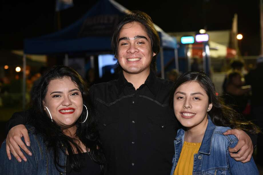 Attendees pose for a photo during the WBCA Jalapeno Festival. Photo: Christian Alejandro Ocampo