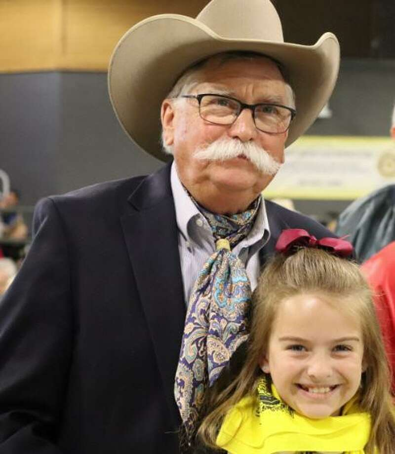 Gerald D. Young attended the Feb. 16 dedication of the agricultural sciences center named after him in the Katy Independent School DIstrict. Photo: Katy ISD / Katy ISD