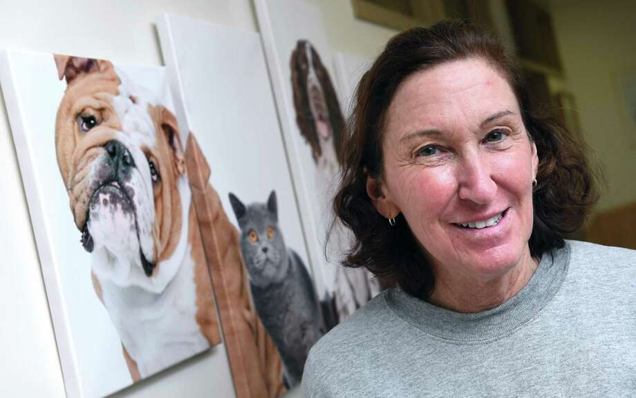 Dr. Deborah Yarrow, who reported the suspicious incident to police, is photographed at the Mill Pond Veterinary Hospital in Branford. Photo: Arnold Gold / Hearst Connecticut Media / New Haven Register