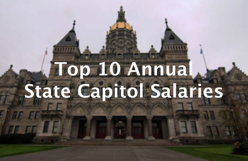 >>Click through to see the top 10 annual state capitol salaries from the past year.