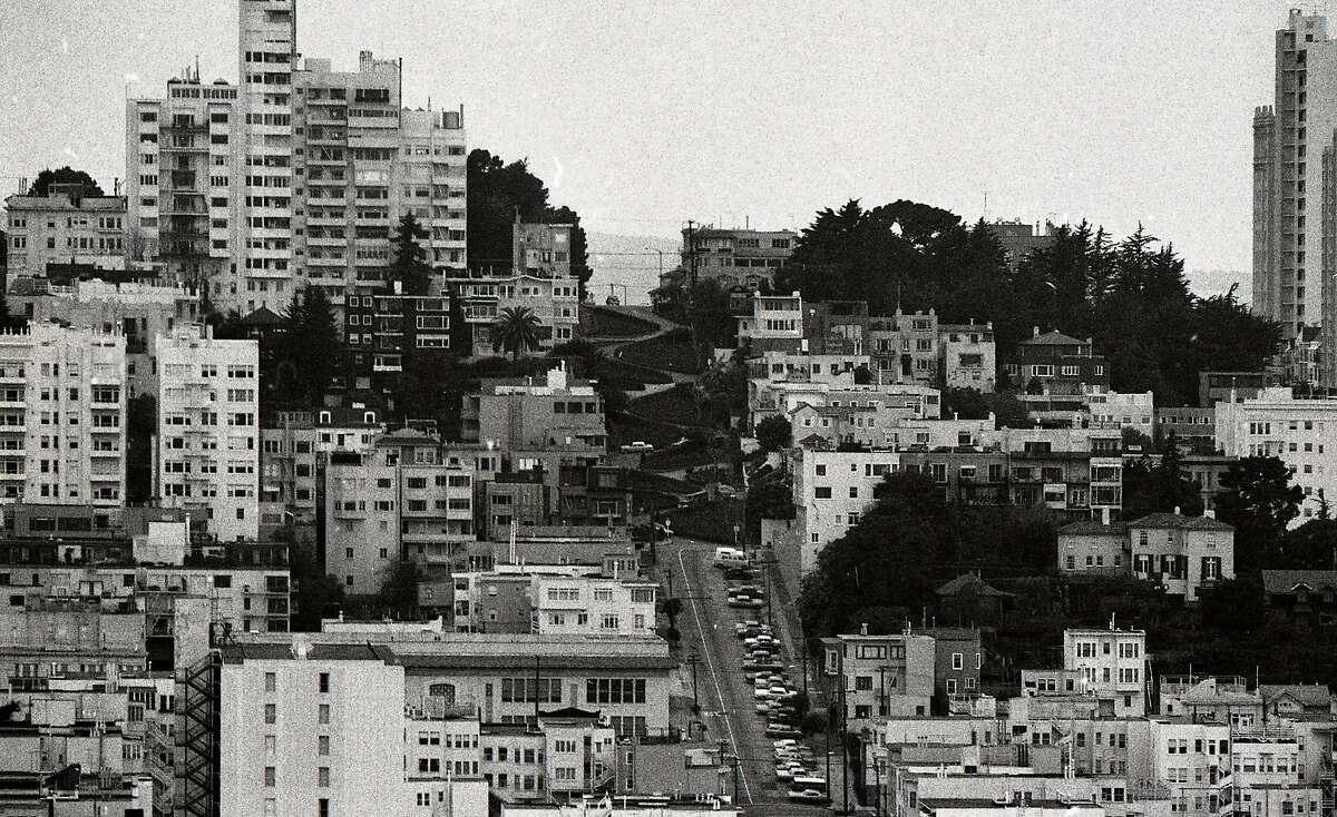 The crookedest street in the world is said to be Lombard Street, February 5, 1972