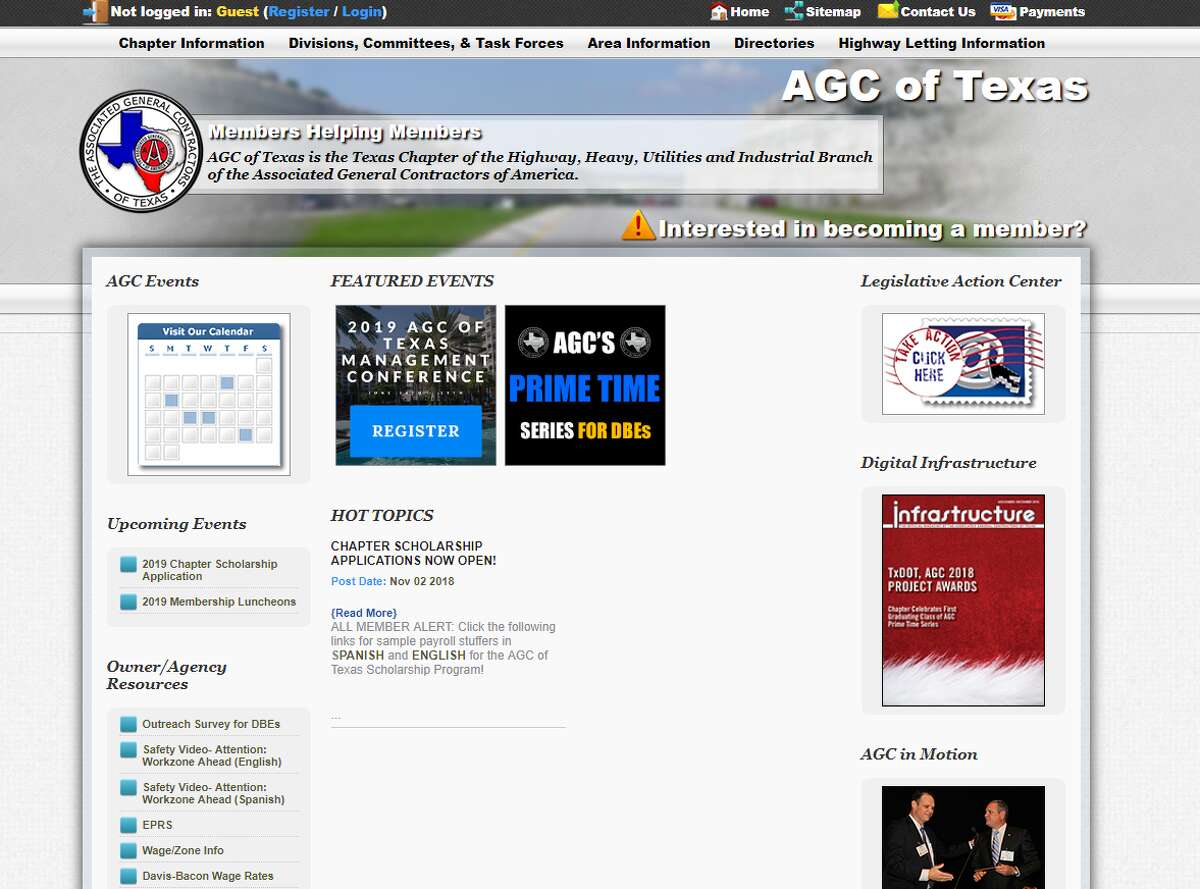 Associated General Contractors of Texas: $100,000