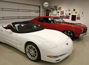 San Antonio exec uses classic car, art collection for