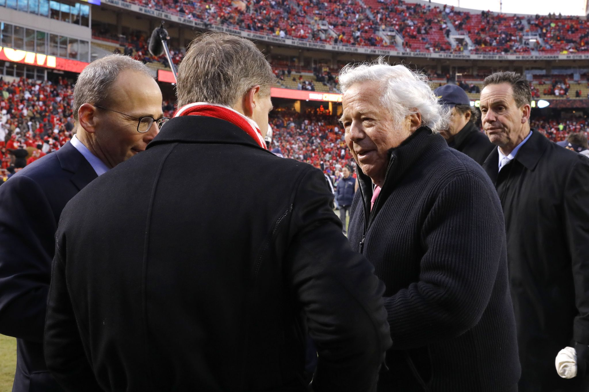 Authorities Robert Kraft Visited Parlor For Sex On Day Of