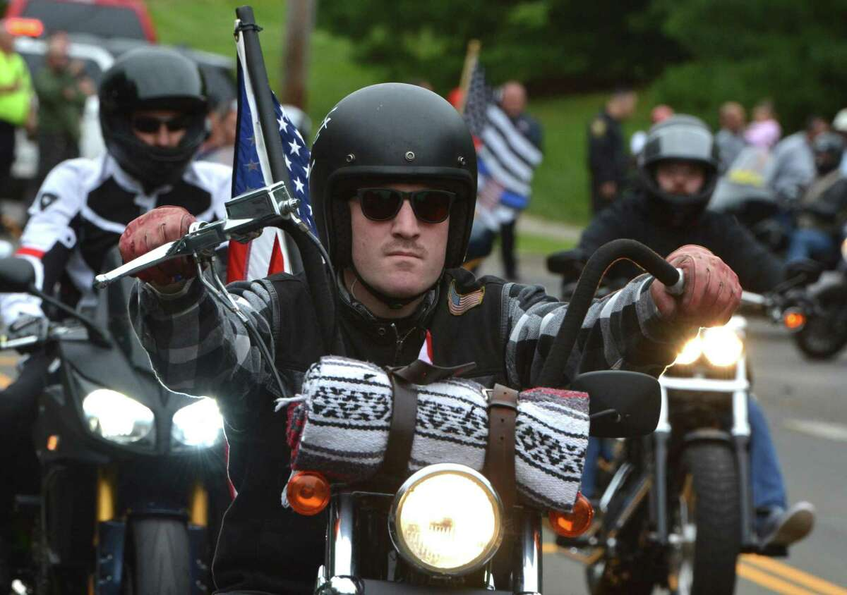 About 2,000 motorcycle riders participated in the 18th annual CT United Ride in September.