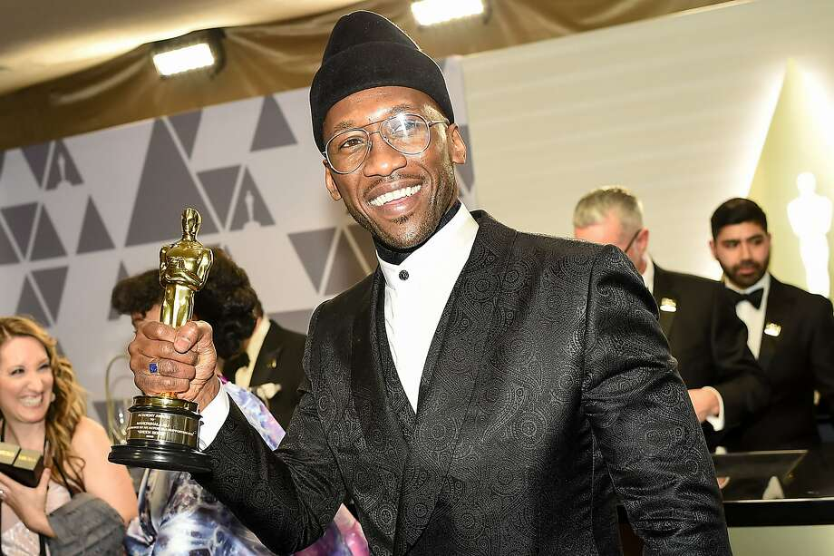 """Best Supporting Actor winner for """"Green Book"""" Mahershala Ali attends the 91st Annual Academy Awards Governors Ball at the Hollywood & Highland Center in Hollywood, California on February 24, 2019. Photo: Robyn Beck, AFP/Getty Images"""