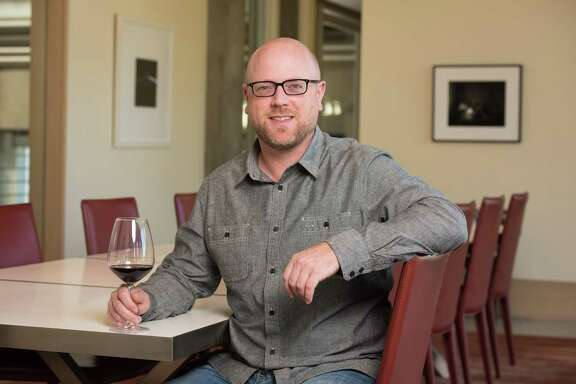 Christopher Tynan, a Houston native, is the winemaker at Cliff Lede Vineyards in California.