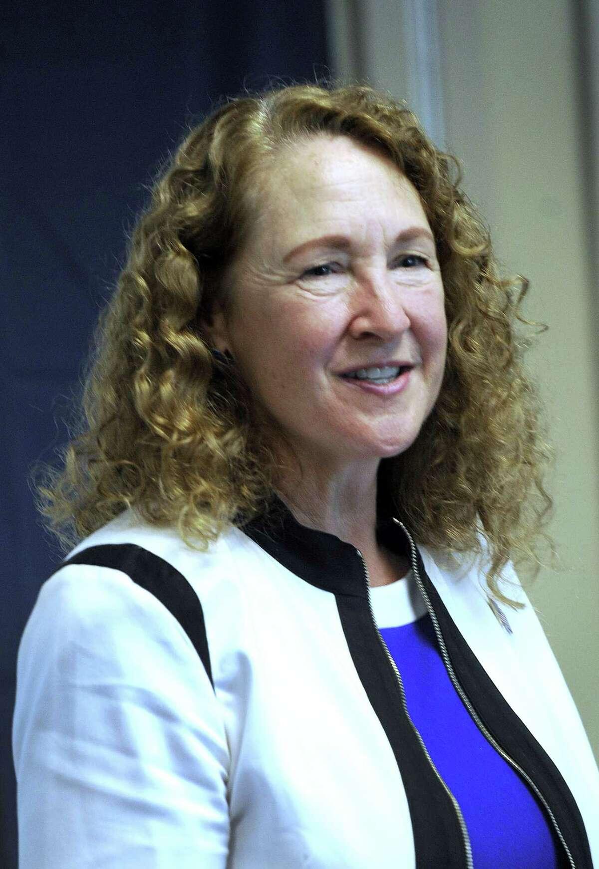 Former U.S. Rep. Elizabeth Esty in Brookfield Monday, June 11, 2018.