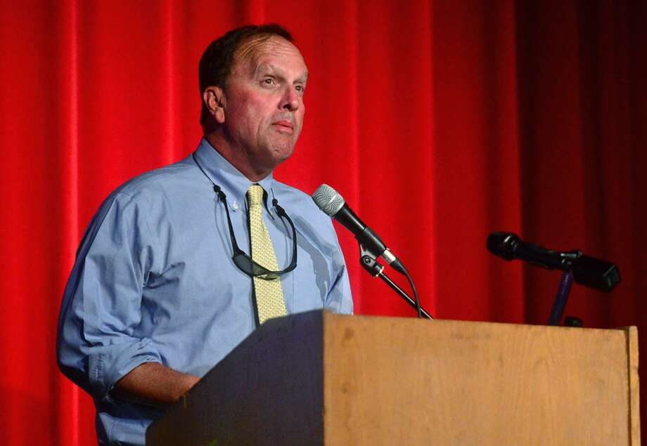 Board of Education Chairman Michael Barbis. Photo: Erik Trautmann / Hearst Connecticut Media / Norwalk Hour