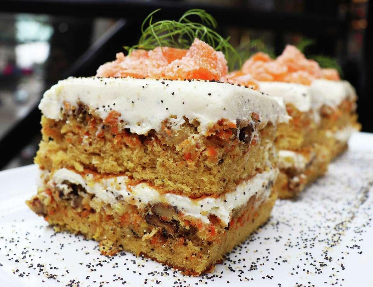 Carrot cake from Pondicheri Bake Lab