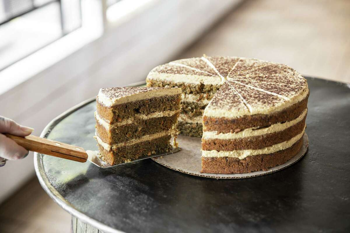 Ca Phe Sua Da Carrot Cake at UB Preserv
