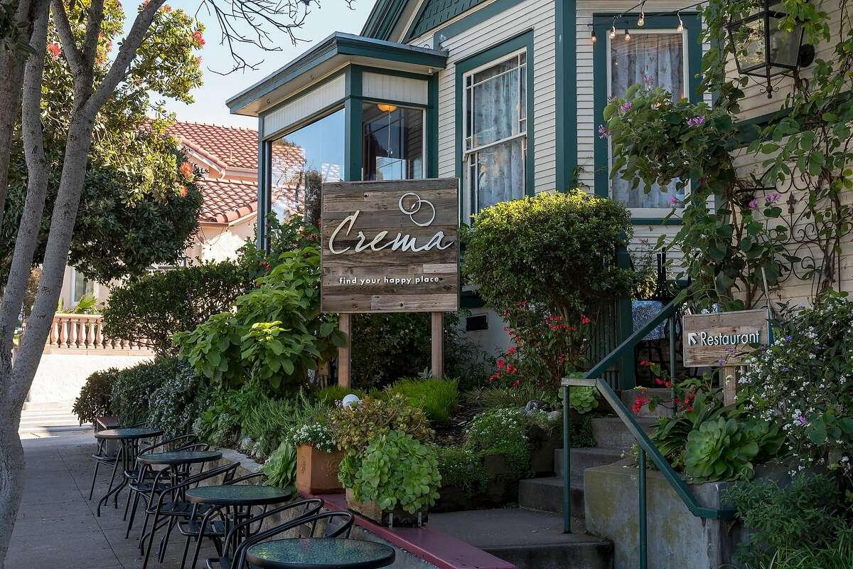 Crema restaurant in Pacific Grove, Calif.