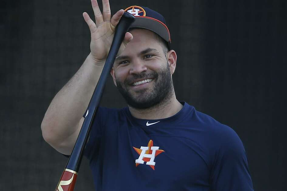 Jose Altuve made his spring debut Monday as the Astros' designated hitter and could be playing second base as soon as Friday.