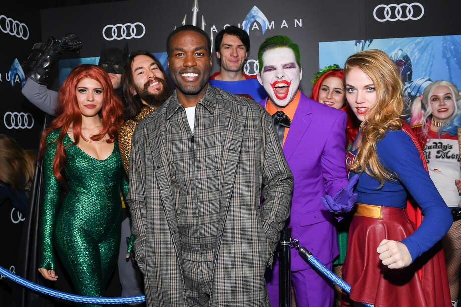"TORONTO, ONTARIO - DECEMBER 17:  Actor Yahya Abdul Mateen II attends the ""Aquaman"" exclusive blue carpet fan screening held at the Scotiabank Theatre on December 17, 2018 in Toronto, Canada. (Photo by George Pimentel/Getty Images for Warner Bros. Canada) Photo: George Pimentel/Getty Images For Warner Bros. Ca"