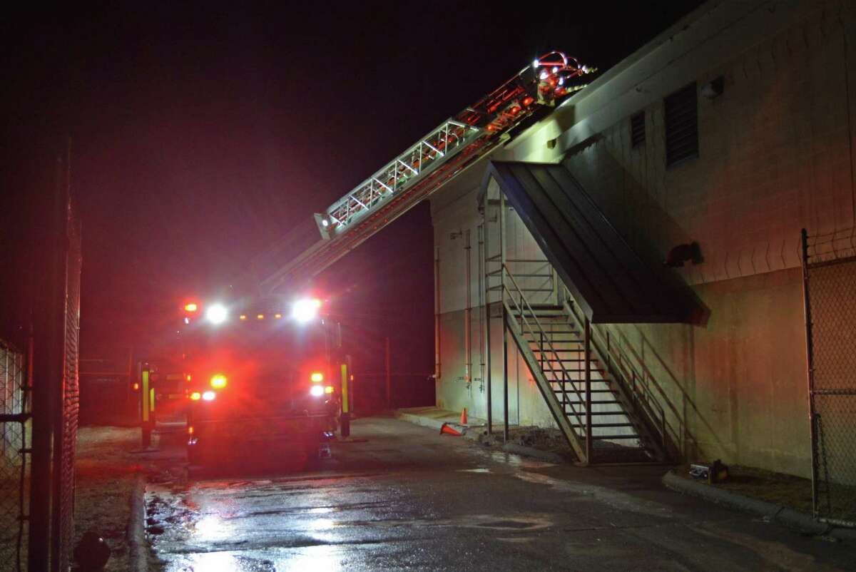 A fire was knocked down Monday night at the River Road water treatment plant in Middletown.
