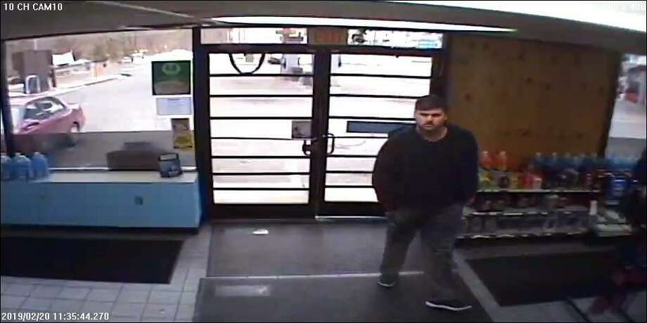 Police are asking the public help in identifying a suspect in recent larceny at a Derby business. If anyone has any information, please contact the Derby Police Department at (203) 735-7811. Calls may remain confidential. Photo: Derby Police Department