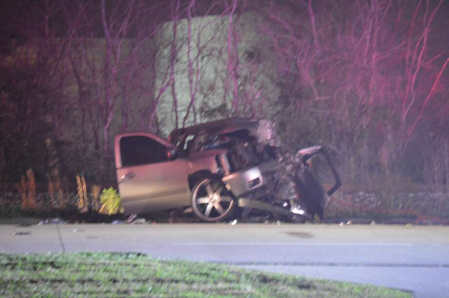 Two men were killed in a crash late Friday night in Port Arthur Photo: Photo By Eric Williams